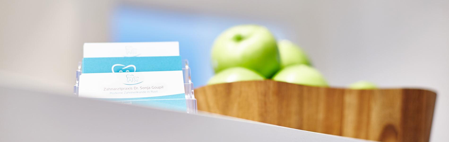 Zahnarztpraxis Dr. Sonja Goupil - Impressum 1